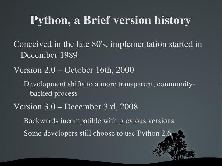 Python 3 Intro Presentation for NEWLUG