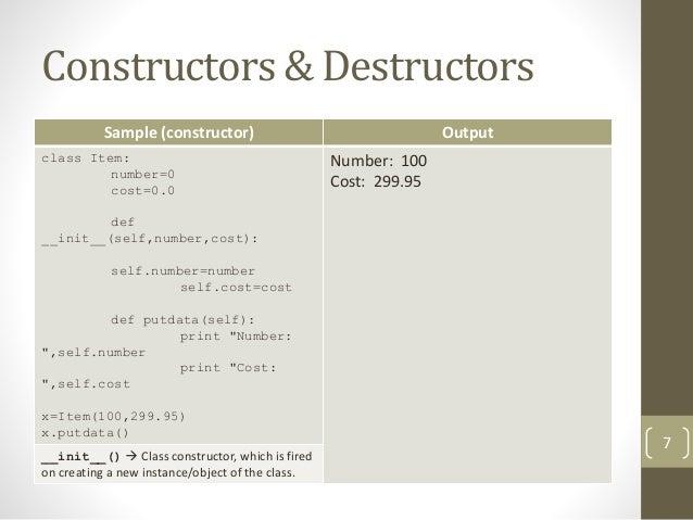 python class destructor