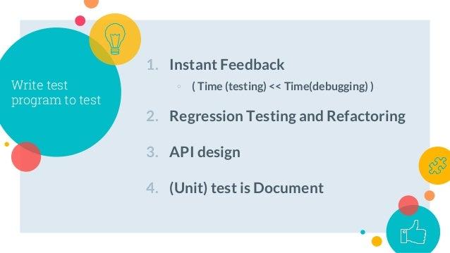 Python and test