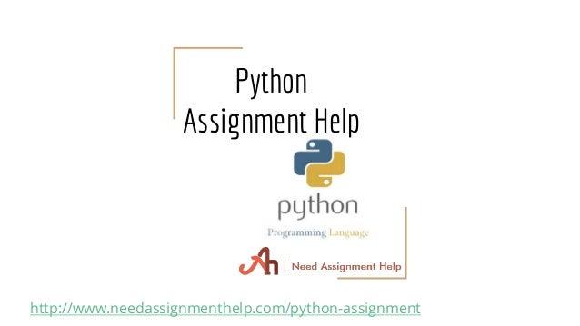 Python Homework Help | Do My Python Homework | Python Help