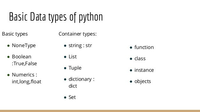 Python - Basic Syntax