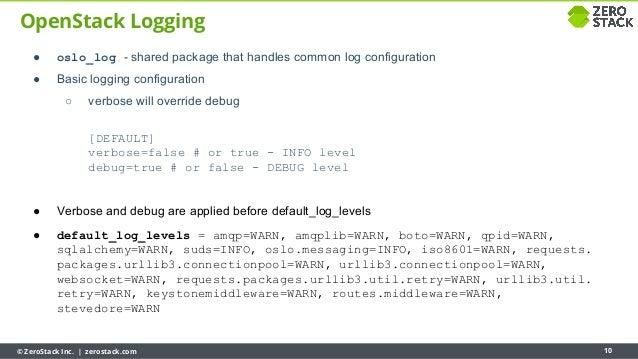 Python Basics for Operators Troubleshooting OpenStack