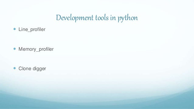 Python code profiling - Jackson Isaac Slide 3