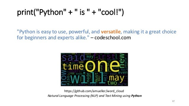 Python in 30 minutes!