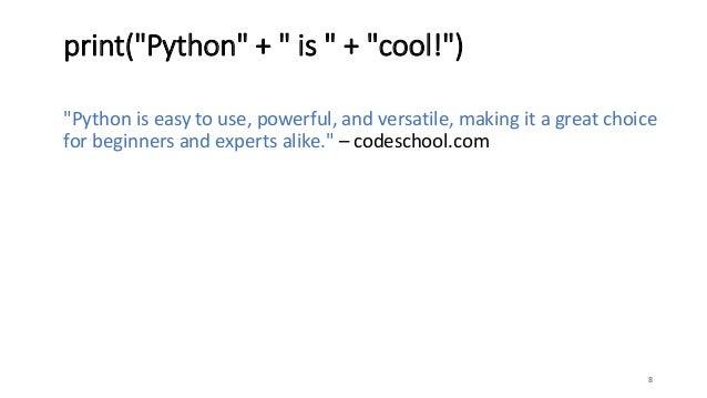 Python in 30 minutes!