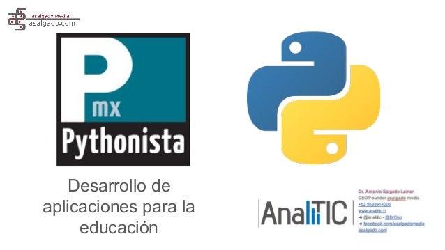 Desarrollo de aplicaciones para la educación