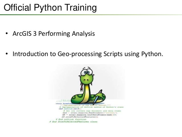 writing advanced geoprocessing scripts using python on mac