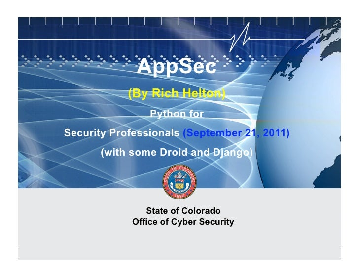 CYBER SECURITY   INFORMATION TECHNOLOGY                                                               AppSec              ...