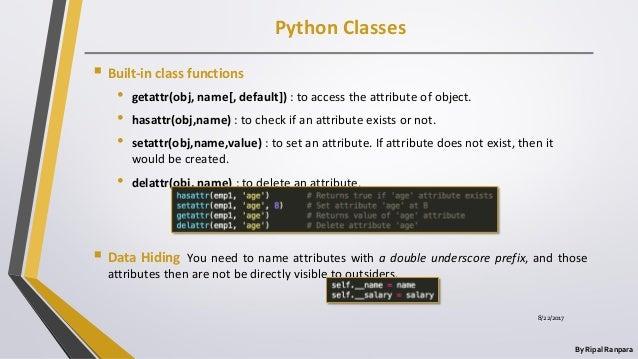 Python final ppt