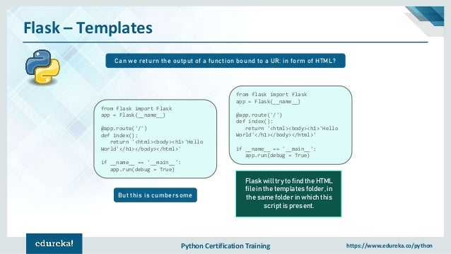 Python Flask Tutorial For Beginners | Flask Web Development