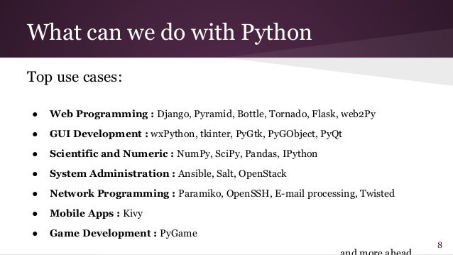 Can Python be used for Desktop Application Development?