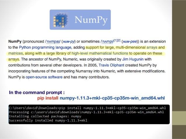Installing Python on Windows OS