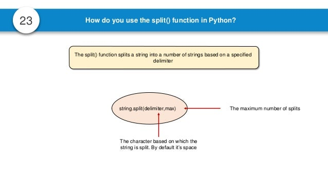 Python Interview Questions | Python Interview Questions And
