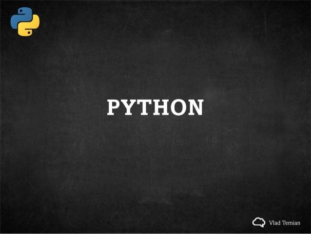 [Python] introduction