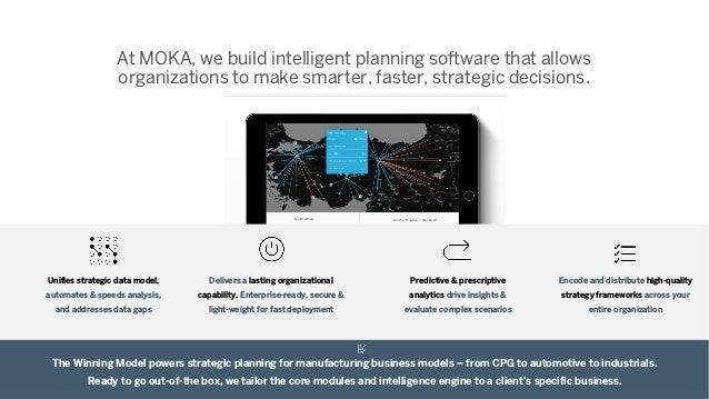 At MOKA, we build intelligent planning software that allows organizations to make smarter, faster, strategic decisions. Th...