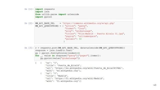 Python Madrid: Wikipedia, the encyclopedia anyone can edit
