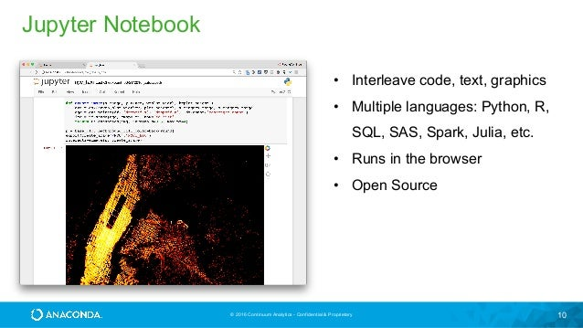 Language In 45 And 47 Stella Street: Python Notebooks For Collaborative Data Science
