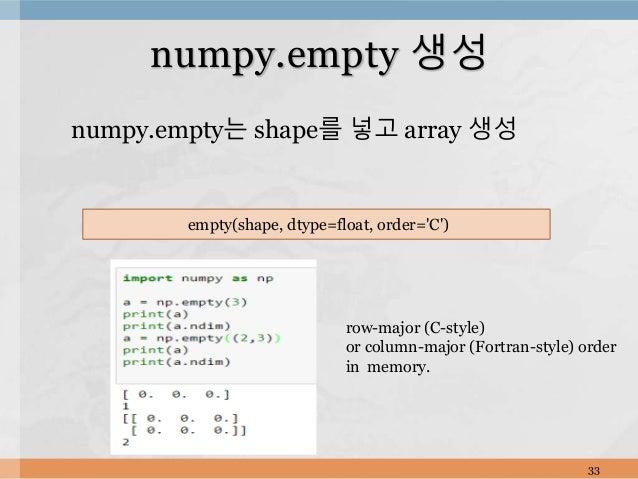 Python+numpy pandas 1편