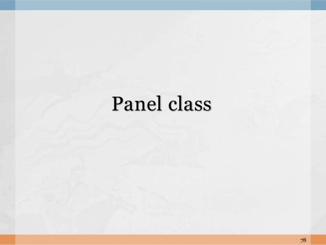 78 Panel class