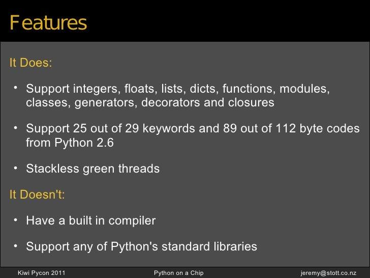 Python On A Chip