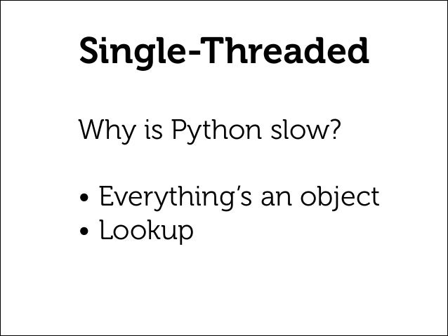 Python Performance: Single-threaded, multi-threaded, and Gevent