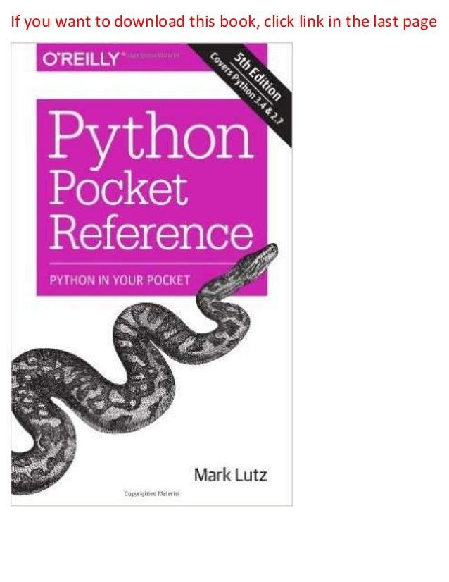 Python Standard Library By Fredrik Lundh Pdf Die Falschungen Des