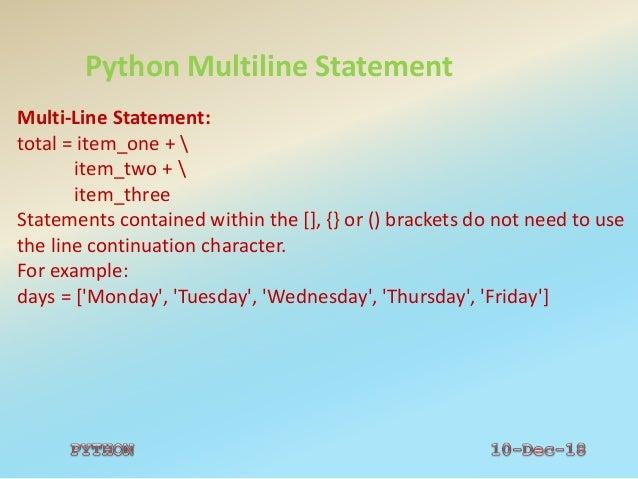 Pythonppt28 11-18