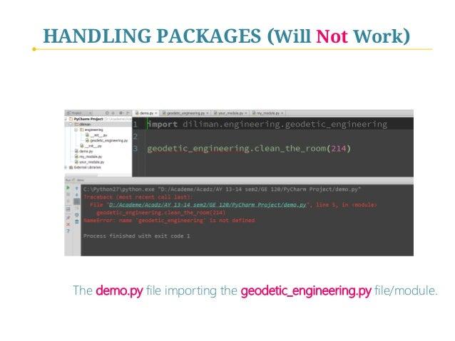 Python Programming - IV  Program Components (Functions