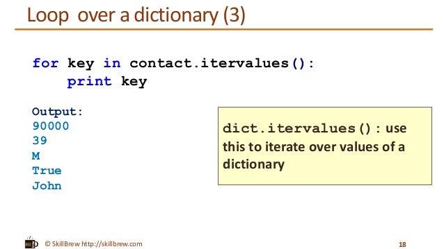 Python Programming Essentials M14 Dictionaries