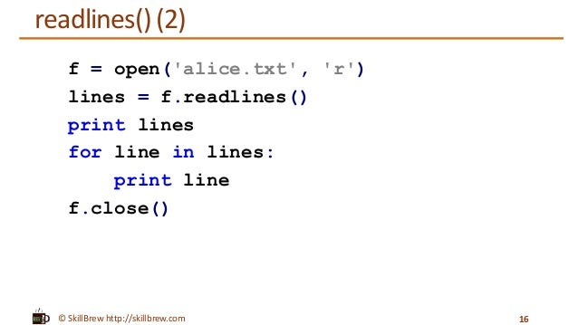 Python Programming Essentials - M22 - File Operations