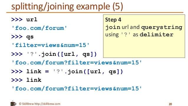 Python Programming Essentials M8 String Methods