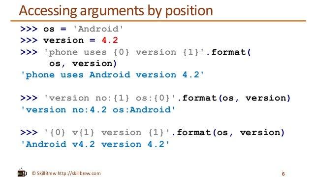 Python Programming Essentials - M9 - String Formatting