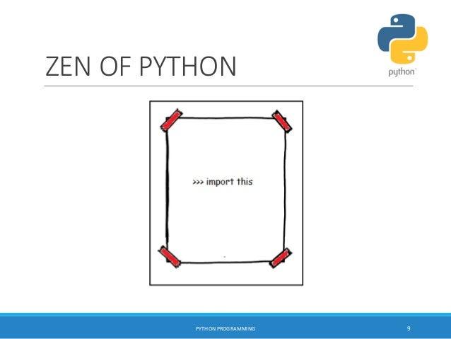 Python programming Workshop SITTTR - Kalamassery
