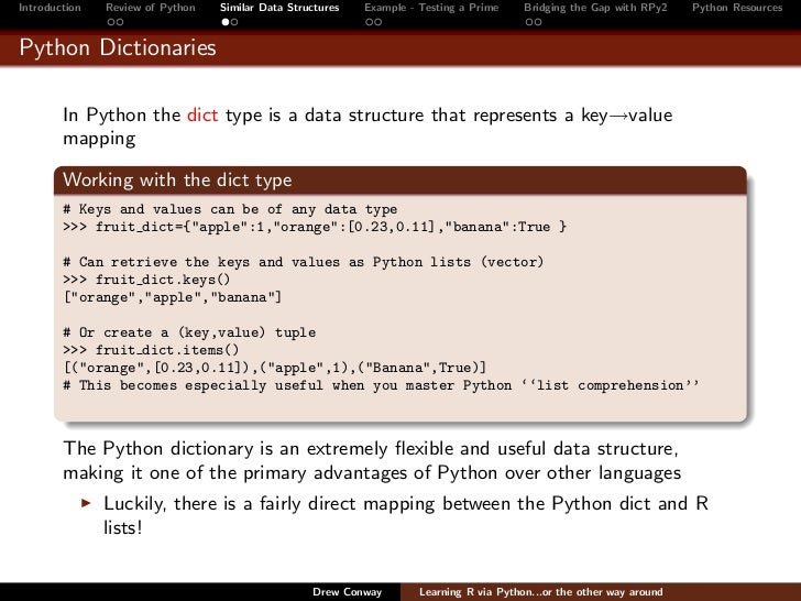 access items in a python dictionary via key
