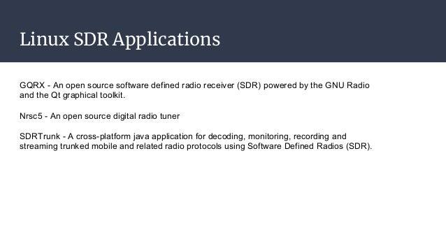 Python + Software Defined Radios