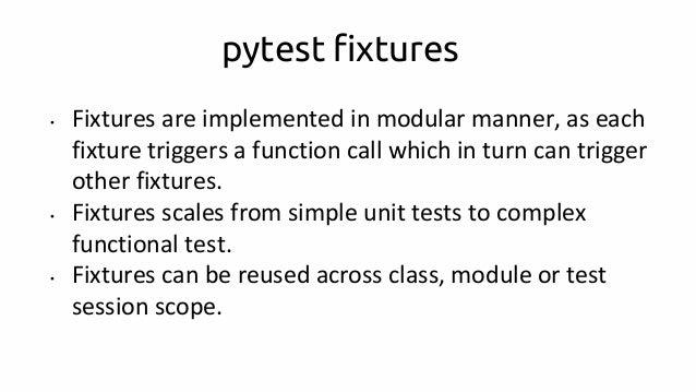 Python testing using mock and pytest