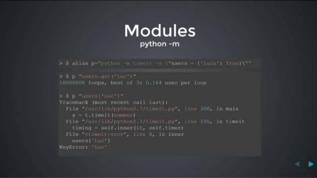 Python Tips - Luca Lanziani - Codemotion Roma 2015