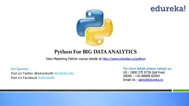 Webinar: Mastering Python - An Excellent tool for Web Scraping and D…