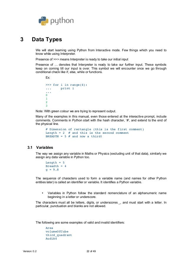 Python for class 11 (CBSE Computer science sub code 083)
