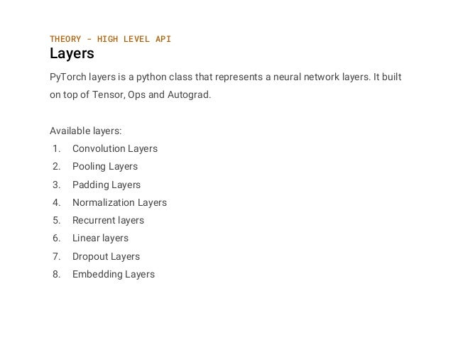 PyTorch for Deep Learning Practitioners