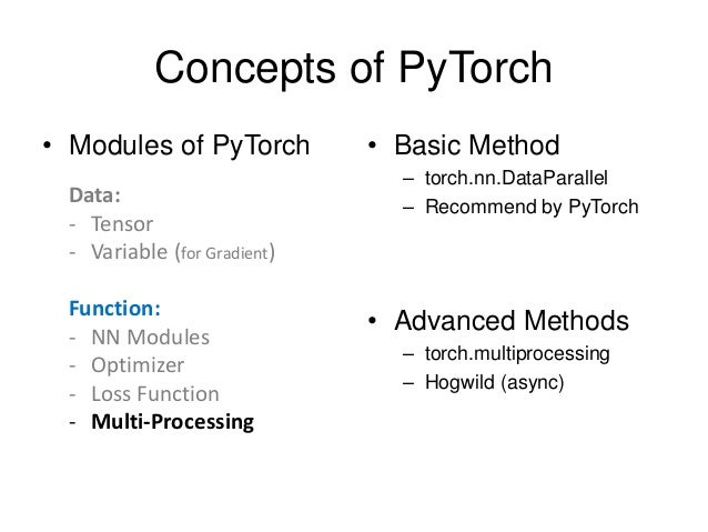 Update] PyTorch Tutorial for NTU Machine Learing Course 2017