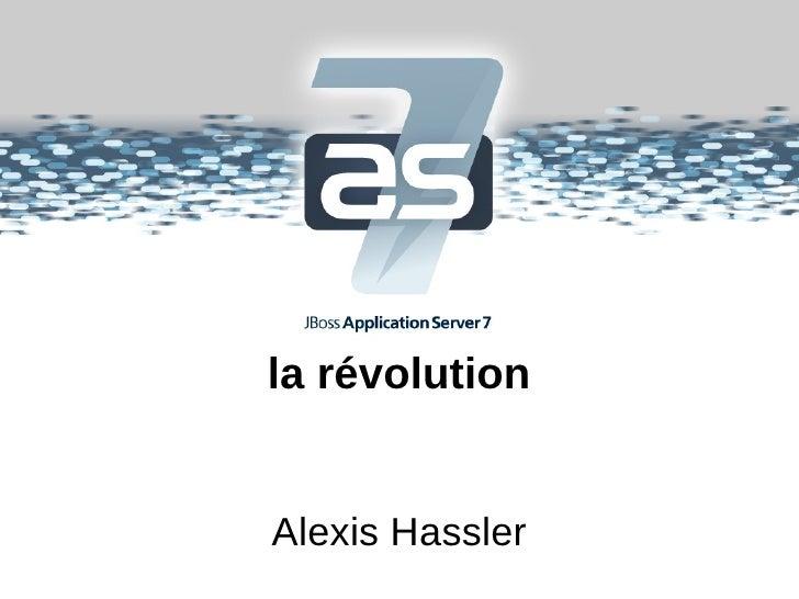 la révolutionAlexis Hassler