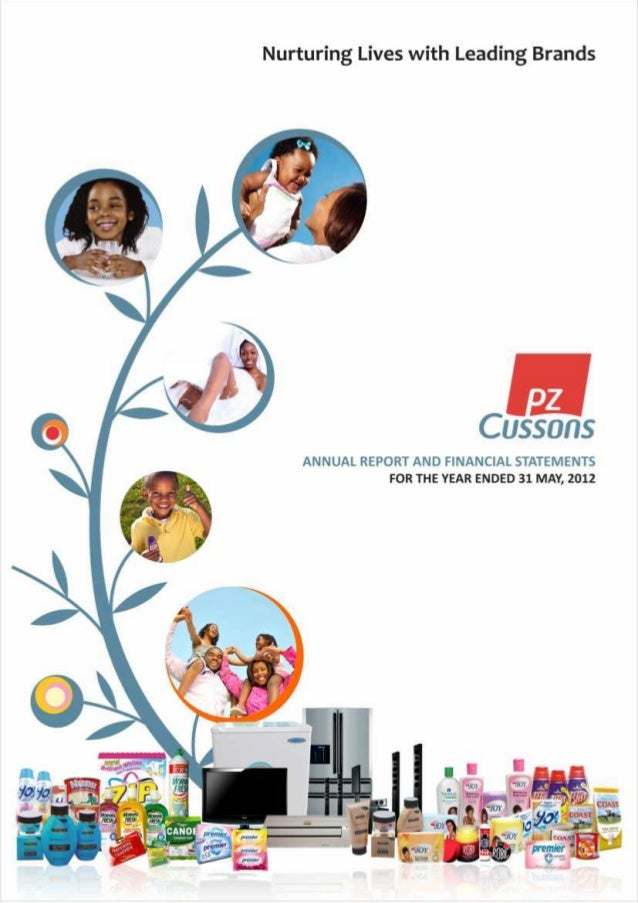 PZ Cussons  Annual Report 2012