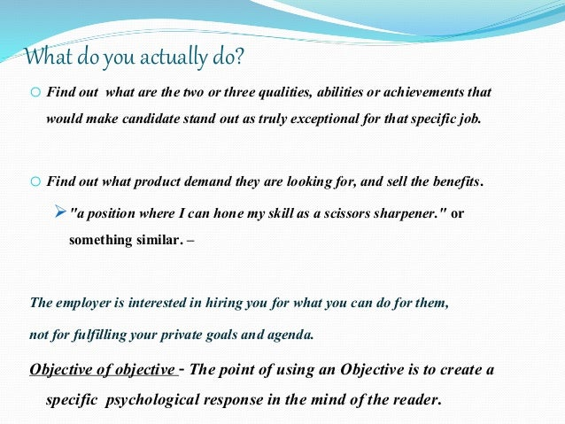 Resume Writing Career Counseling