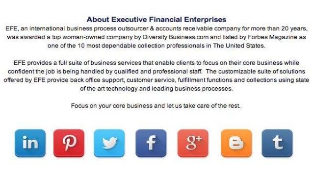 Executive Financial Enterprises: June Newsletter