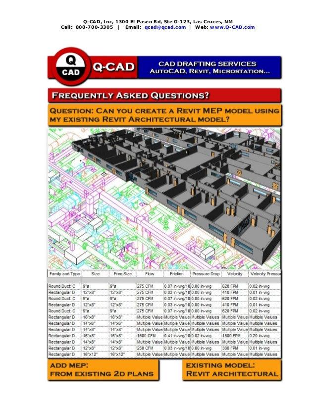 Q-CAD FAQ - Revit Architectural Model