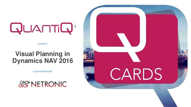 presents Visual Planning in Dynamics NAV 2016 in partnership with