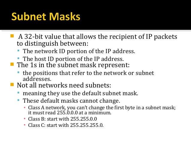 Lesson 2: Subnetting basics