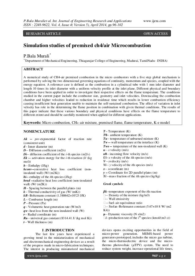 P.Bala Muraliet al. Int. Journal of Engineering Research and Applications www.ijera.com ISSN : 2248-9622, Vol. 4, Issue 4(...