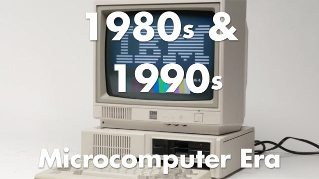 OS in 1980s & 1990s • UNIX dominates mainframes/servers • PC emerges & brings lots of users (expanded reach) –DOS & Window...